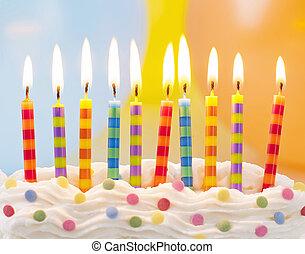 נרות של יום ההולדת