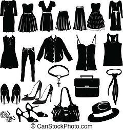 נשים, בגדים, שונה