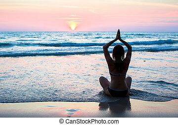סגנון חיים בריא, יוגה, כושר גופני