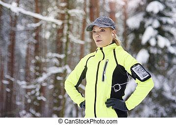 סגנון חיים בריא, לרוץ, דרך, החזק