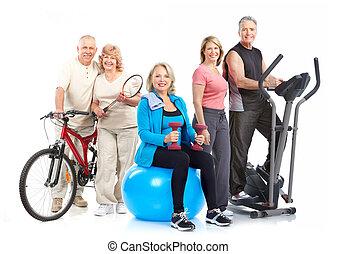 סגנון חיים, כושר גופני, אולם התעמלות, בריא