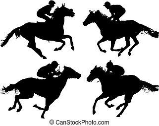 סוס רץ