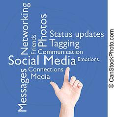 סוציאלי, תקשורת