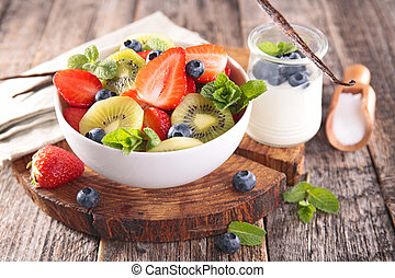 סלט של פרי