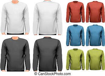 סליואד, טקסט, ארוך, דגום, space., vector., חולצות