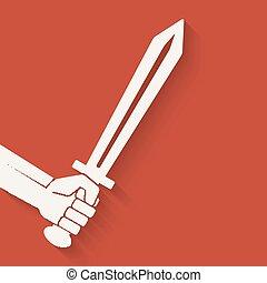 סמל, חרב, העבר