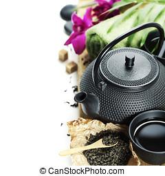 ספא, תה קובע, אסייתי, סביבות