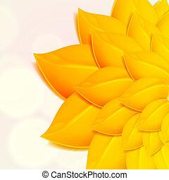 סתו, רקע, צהוב, foliage.
