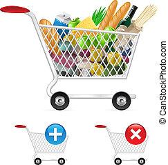 עגלה של קניות