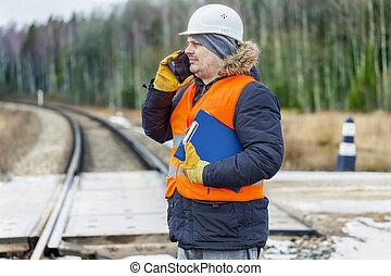 עובד, רכבת, תיעוד