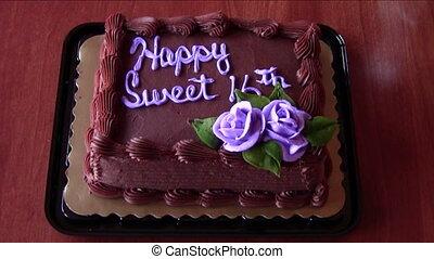 עוגה, יום הולדת