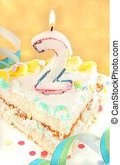 עוגה, שניה, פרוס, יום הולדת