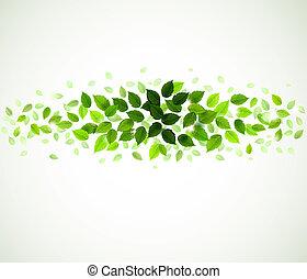 עוזב, ירוק