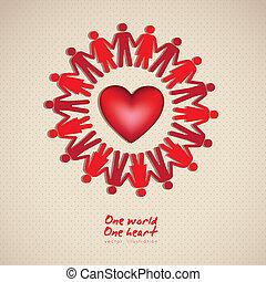 עולם, אחד, אהוב