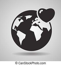 עולם, נדיבות לב, אהוב, איקונים