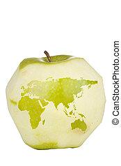 עולם, תפוח עץ, מפה