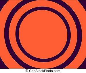 עיגולים, קבע, סגול, אור, רקע, תפוז