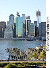 עיר קו רקיע של עיר של ניו יורק