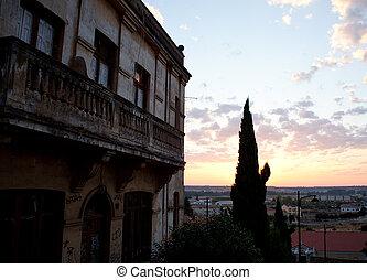 עיר, astorga, עלית שמש