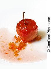 עלה, סירופ, תפוח עץ, אדום