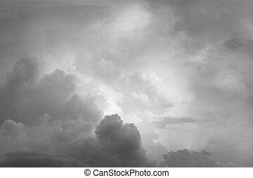 עננים, אפור