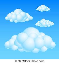 עננים, ציור היתולי