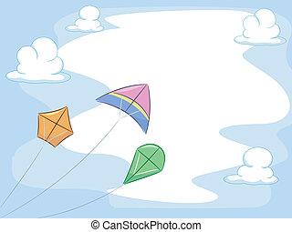 עפיפונים, רקע