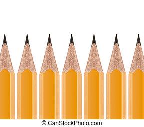 עפרון, חדד