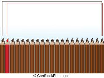 עפרונות, הסגר