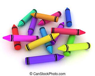 עפרוני צבע