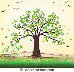עץ, וקטור