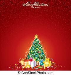 עץ של חג ההמולד, וקטור
