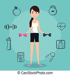 עצב, להתאמן, אנשים