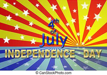 עצמאות, 4, יולי