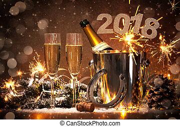 ערב של ראשי השנה, חגיגה