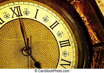 עתיק, שעון
