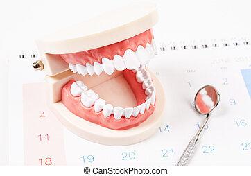 פגישה של השיניים, concept.