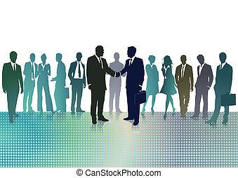 פגישה של עסק