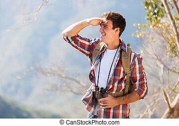 פיסגת הר, איש צעיר