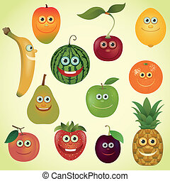 פירות, קבע