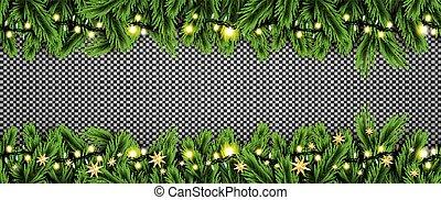 פ.י.ר., כוכבים, רקע., אורות של נאון, ענף, שקוף
