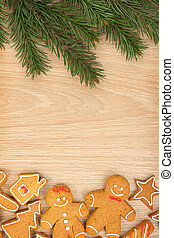 פ.י.ר., עוגיות של גינגארבראיד, עץ, חג המולד