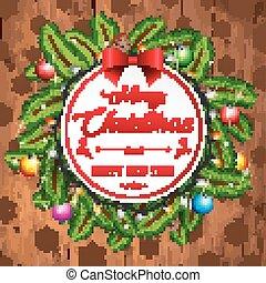 פ.י.ר., ענפים, קונוסים, דאב, רקע, כרטיס של חג ההמולד