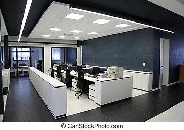 פנים, מודרני, משרד