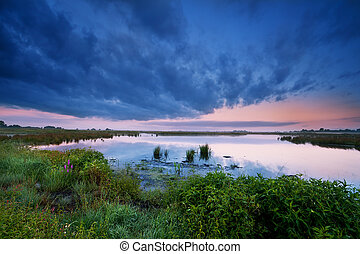 פראי, קיץ, אגם
