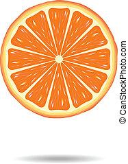 פרוסה של תפוז