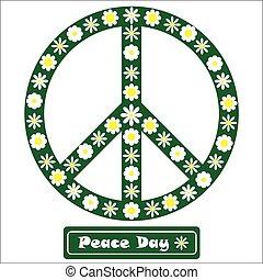 פרחוני, סימן של שלום