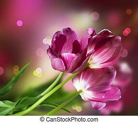 פרחים, עצב