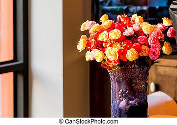 פרחים, צבעוני