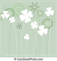 פרחים, רקע